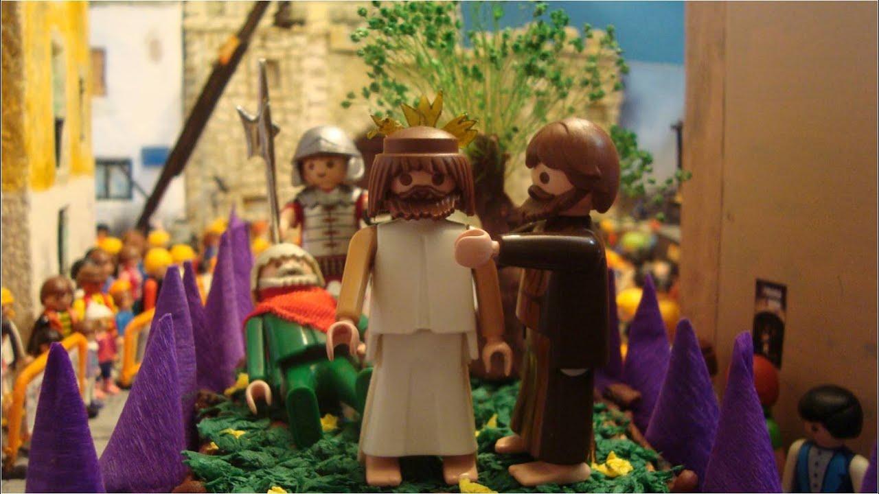 Semana Santa Sevilla Colorear: Miércoles Santo Semana Santa Playmobil 2015