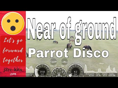 Pilot training (Tutorial) with Disco Parrot II, Foz do Rio Kwanza, Angola - Drone Disco Parrot