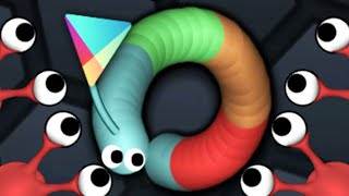 Slither.io New Hidden Google Chrome Skin Trolling Giant Snake In Slitherio Live Stream!