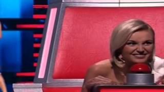 ✔ Алла Рид  на сцене шоу  Голос 4  Слепое прослушивание 04.09.2015