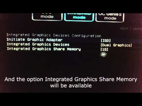 AMD A10-5800K Change shared memory size for Integrated