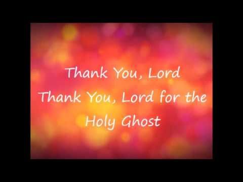 I've Got an Unction and Thank You Lord For the Holy Ghost lyrics (by Keith Moore)