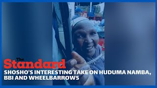 Shosho\'s Take on BBI, Huduma Namba and Wheelbarrows that made her go viral