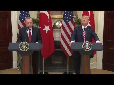 LIVE: President Trump joint statements with President Recep Tayyip Erdogan of Turkey