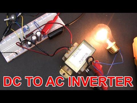 ⚡ Don't build this 12V DC to 120V AC inverter circuit.