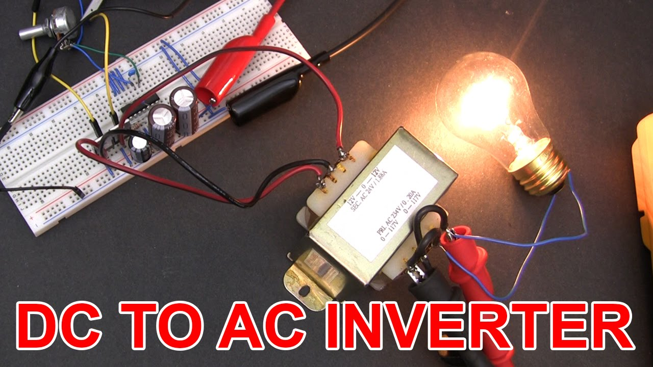 Dont Build This 12v Dc To 120v Ac Inverter Circuit Youtube Making A Home Wiring Diagram