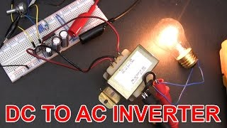 vuclip ⚡ Don't build this 12V DC to 120V AC inverter circuit.