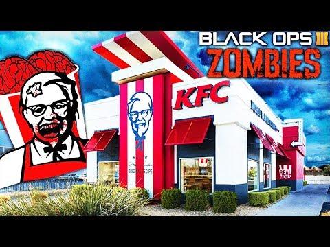 CARTE ZOMBIE KFC ! - Custom Map Zombies Black Ops 3