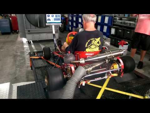 Go kart twin engine Dyno