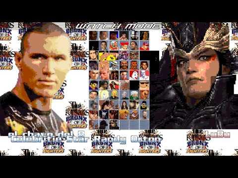 Mugen Kings Bronx OF Fighters LuBu Vs Randy Orton & El Chavo Del 8