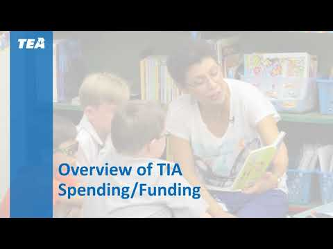 Overview of TIA Spending & Funding