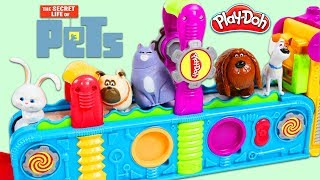 The Secret Life of Pets Characters Visit the Play Doh Mega Fun Factory!