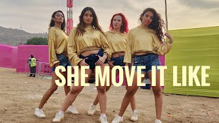 She Move It Like - Badshah | The BOM Squad | Happy New Year