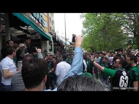 #TBT Kocaelispor-Sultangazi maçı öncesi Eskişehir sokakları ve maçtan görüntüler   Emrah Özşahin