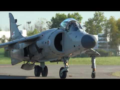 Art Nalls - Sea Harrier demo - Culpeper Air Fest 2017