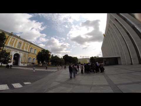 Moscow - Inside Kremlin Gate