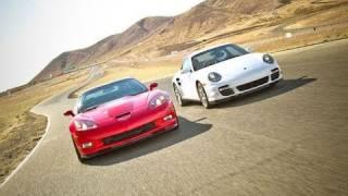 Drag Race! Chevrolet Corvette ZR1 vs Porsche 911 Turbo