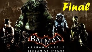 Batman Arkham Knight Season Of İnfamy Most Wanted İn From The Cold-Mr.Freeze Final  DLC