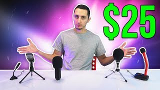 Top 5 Best Microphones Under $25 - 2018