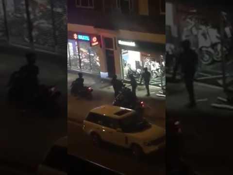 Kawasaki motorbike robbery in Ruislip, West London on 18/07/17