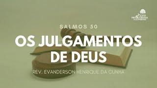 Culto 18/10/2020 - Os Julgamentos de Deus