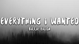 Download Billie Eilish - everything i wanted (Lyrics)