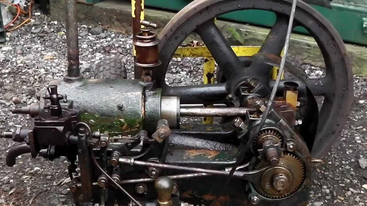 Gardner stationary engine youtube for Stationary motors for sale