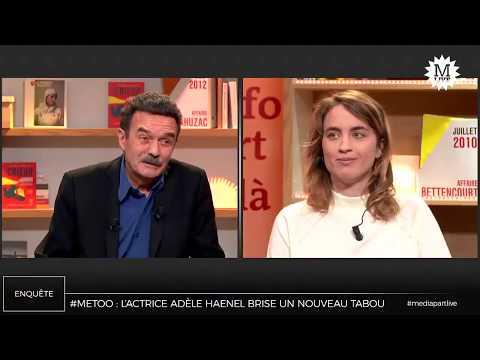 MediapartLive: Adèle Haenel brise un nouveau tabou dans le cinéma