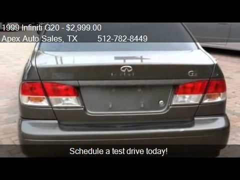 1999 infiniti g20 - for sale in austin, tx 78758 - youtube