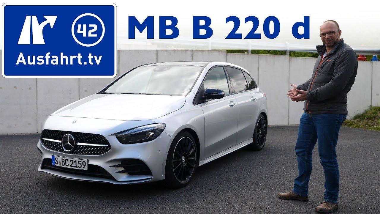 2019 Mercedes Benz B220 d AMG Line (W 247) Kaufberatung, Test deutsch, Review, Fahrbericht