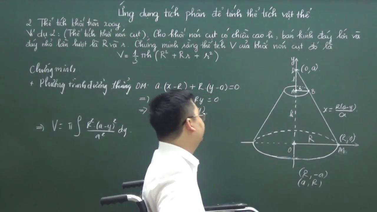 [Luyện Thi Đại Học] Tích Phân _Thể tích khối tròn xoay –  Phần 2