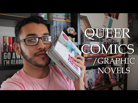 BOOK RECOMMENDATIONS: Queer Comics/Graphic Novels!!!