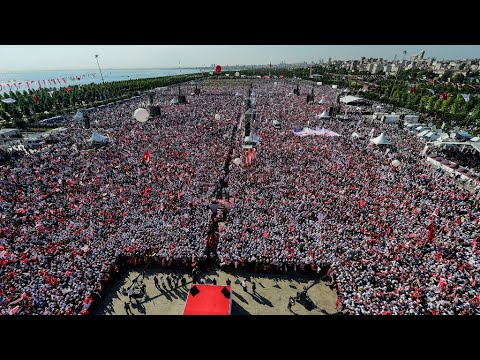 إسطنبول: عشرات آلاف المتظاهرين في -التجمع من أجل العدالة- الذي نظمته المعارضة  - 10:22-2017 / 7 / 10