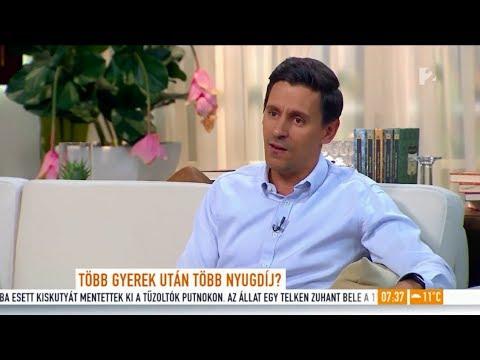 Több gyermek, több nyugdíj? Sipos Csaba reagált a legújabb javaslatra a TV2-n