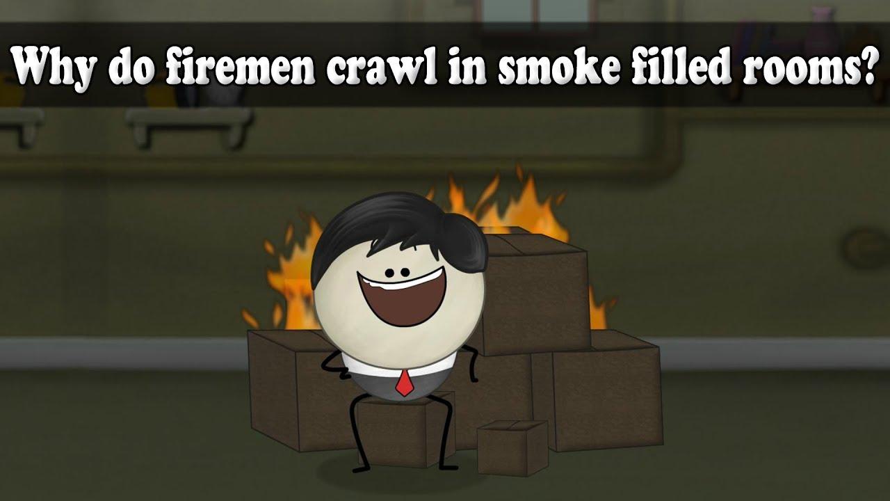 Density - Why do firemen crawl in smoke filled rooms? | #aumsum