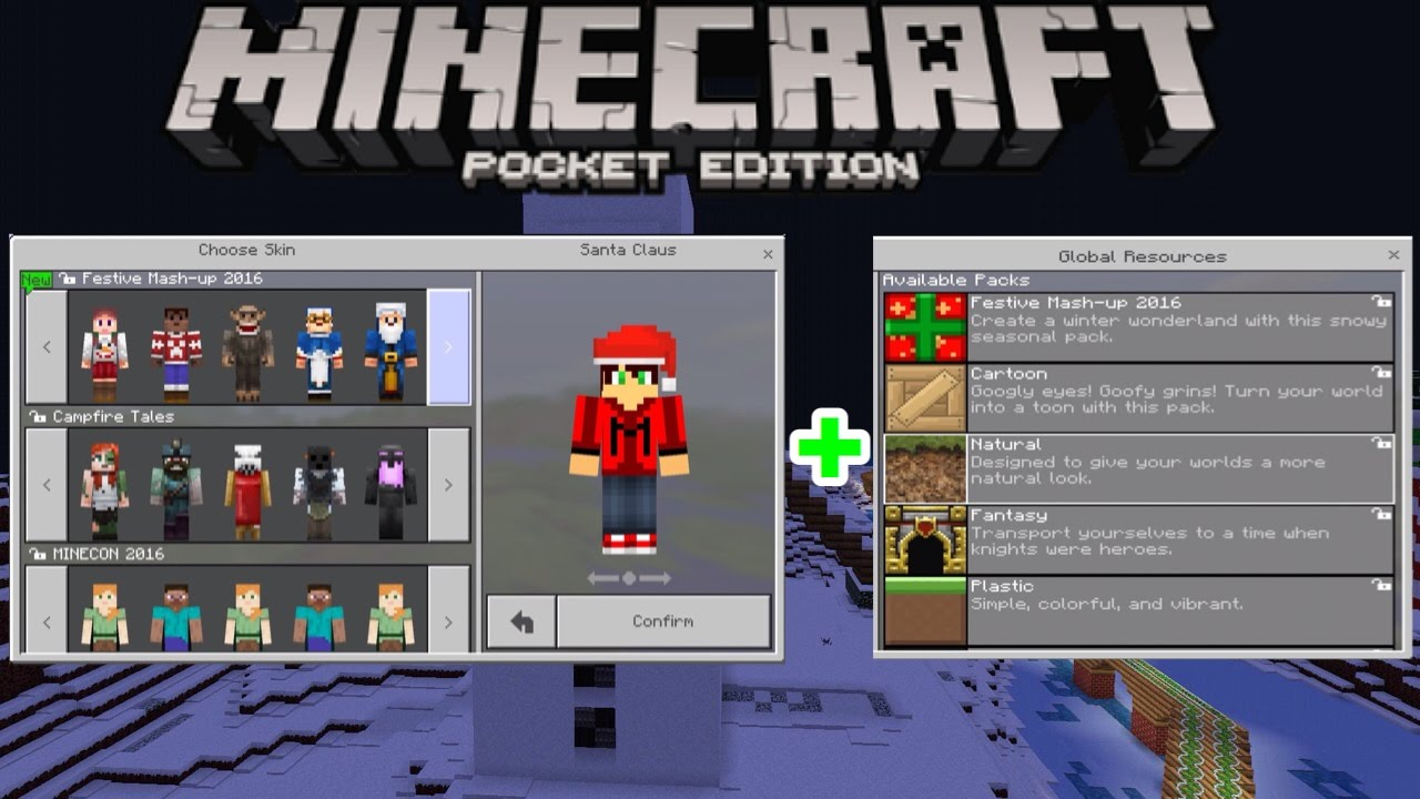 Minecraft PE Mcpe ALL TEXTURE PACKS SKIN PACKS AND - Alle skins fur minecraft