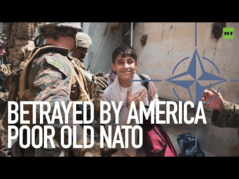 Betrayed by America, poor old NATO