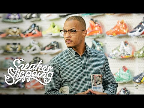 TI Goes Sneaker Shopping With Complex