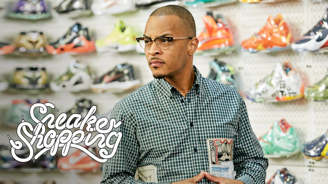 #T.I. Goes Sneaker Shopping With #Complex