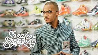 T.I. Goes Sneaker Shopping With Complex