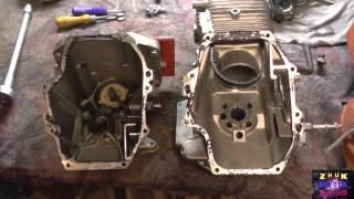 видео Коленвал, Кольца, Поршень, Шатун на двигатель GC 135