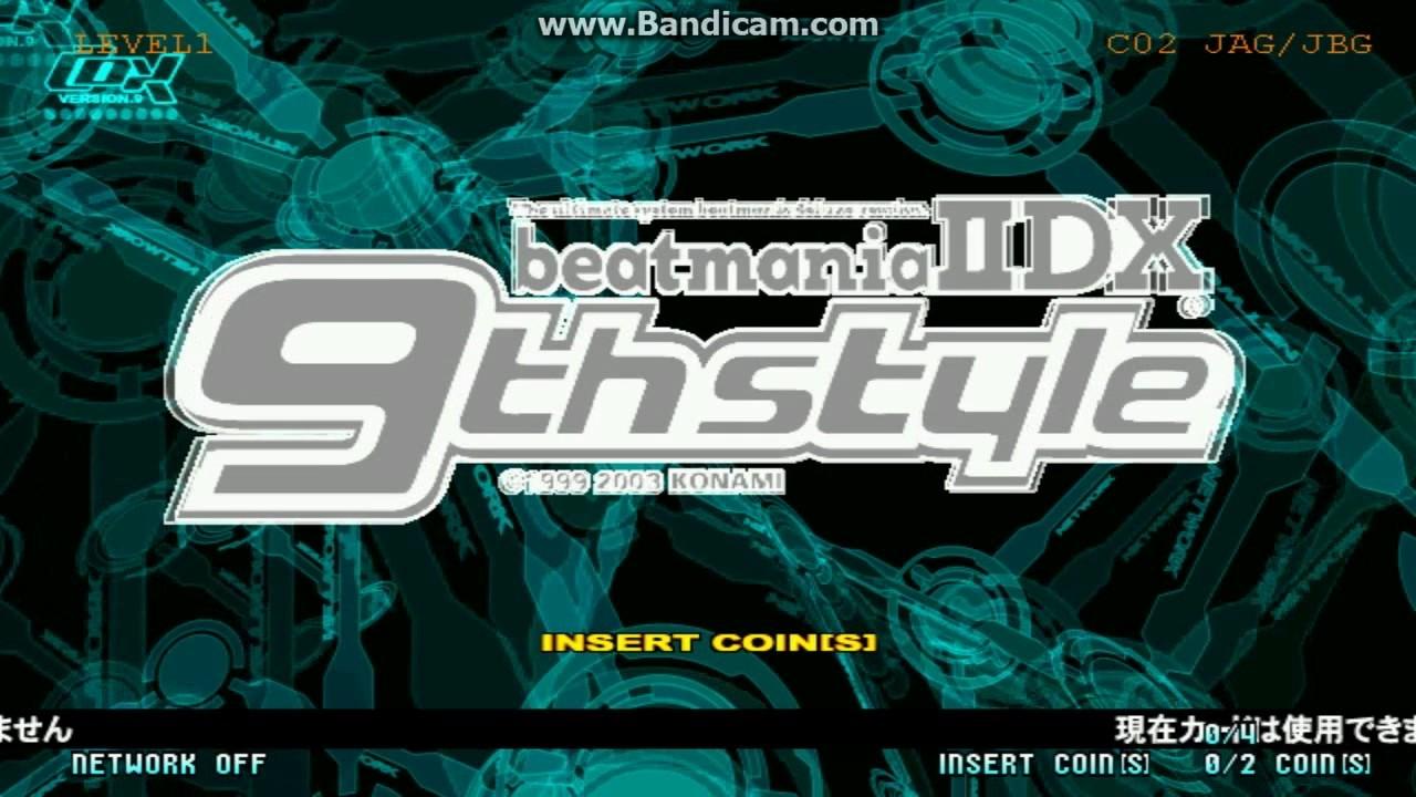 Beatmania IIDX 9th Style konami benami PC win 7 arcade faulty playthrough
