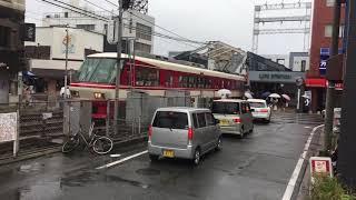 西鉄8000形電車『ラストラン』井尻駅通過 スロー撮影【完全版】