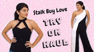 Stalk Buy Love Party Wear Haul | Dhwani Bhatt