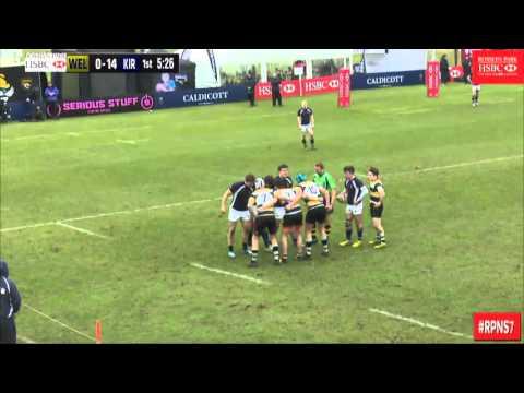 James Maddrell - Rosslyn 7s 2016 - KGS v Wellington (Full Match)