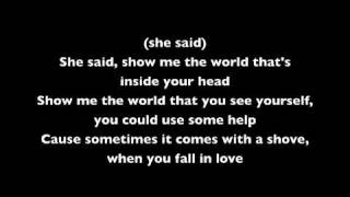 Angels & Airwaves - Shove (With Lyrics)