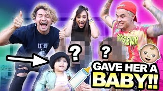 SURPRISING OUR ROOMMATE WITH A BABY!! Ft. ACE Family