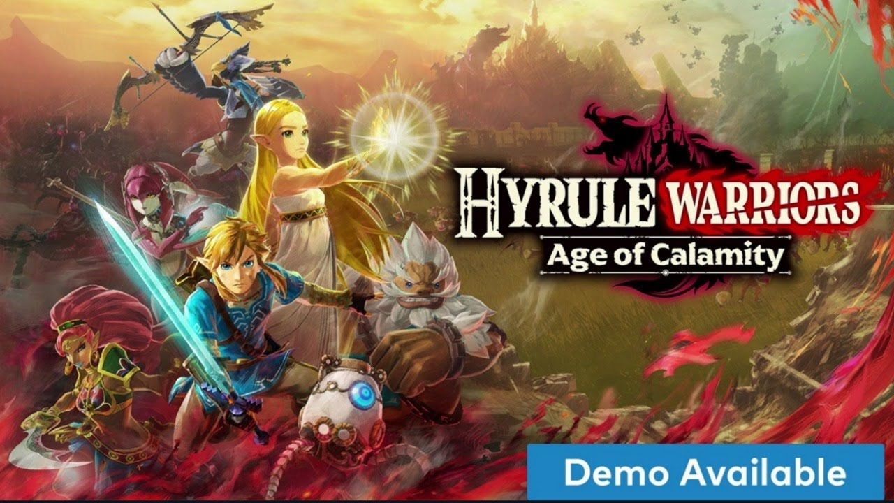 Hyrule Warriors Age Of Calamity Full Demo Gameplay Youtube