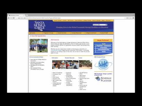 How to Apply to Santa Monica College