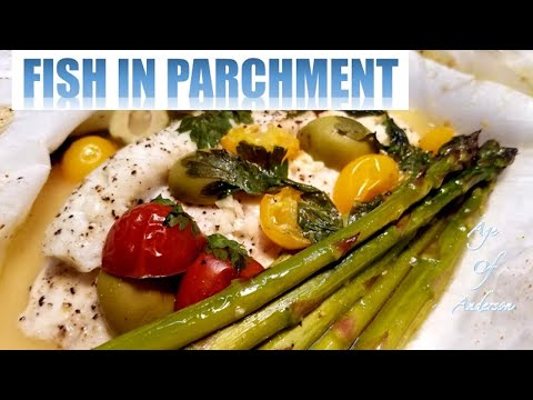 Fish In Parchment(Poisson En Papillote)